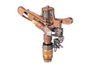 RainBird 35ADJTNTB 3/4 inch Brass Impact Sprinkler