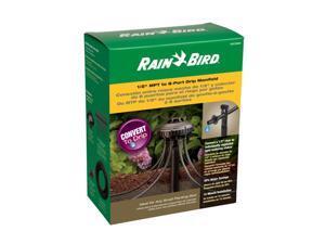 Rain Bird 8 Port Manifold With 8 Emitters and Tubing Convert Kit