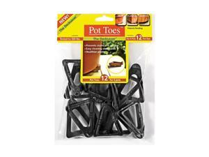 Plantstand 12 Pack Black Pot Toes