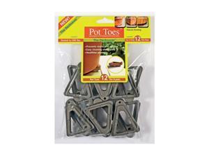 Plantstand 12 Pack Dark Gray Pot Toes