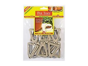 Plantstand 12 Pack Light Grey Pot Toes