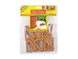 Plantstand 12 Pack Terra Cotta Pot Toes