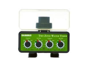 Raindrip Dual Station Water Timer (Hose Threads)