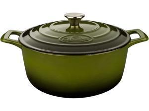 La Cuisine 3.7 QT Round Casserole, Cast Iron