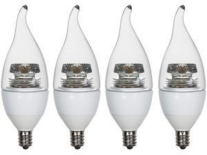 Thinklux 4-PK-TKUCA35S01-4.5W-830-E12 40 Watts Equivalent LED Light Bulb