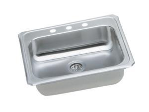 Elkay GECR2521R3 Gourmet Celebrity Sink, Stainless Steel