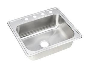 Elkay DSE125224 Dayton Elite Sink, Stainless Steel