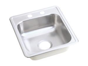 Elkay D117192 Dayton Top Mount Sink, Stainless Steel