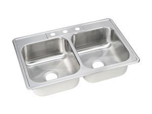 Elkay DSE233223 Dayton Elite Top Mount Sink, Stainless Steel