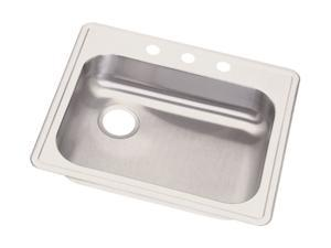 Elkay GE12521L3 Dayton Top Mount Sink, Stainless Steel