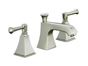 KOHLER K-454-4S-BN Memoirs Widespread Lavatory Faucet with Stately Design and Lever Handles