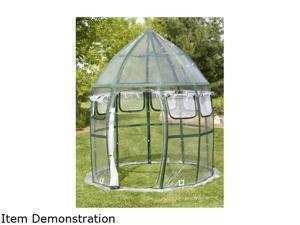 Flowerhouse FHCV900 8.6' dia x 12' Conservatory Portable Greenhouse