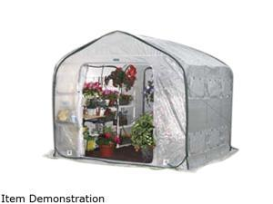 Flowerhouse FHFH700 9' x 9' x 8' FarmHouse Easy Pop-Up Greenhouse