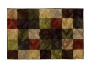 "Mohawk Home Tetris Louisville Brick 30"" x 46"" Rug Light Olive 2' x 3' and smaller 10938 436 030046"
