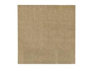 "Mohawk Home Super Texture Shag Meadowland Glimmer 96"" x 96"" Rug 8' x 10' 6464 13491 096096"