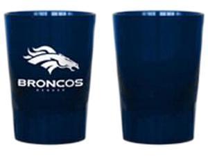 Boelter Brands NFL Dark Blue Plastic Shot Glass Denver Broncos (2 oz.)