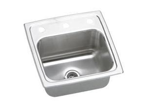 Elkay BLR153 Gourmet Top Mount Single Bowl Sink - Stainless Steel