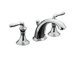 KOHLER K-394-4-CP Devonshire Widespread Lavatory Faucet
