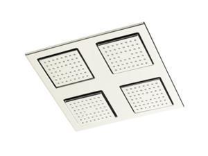 KOHLER K-8030-SN WaterTile Square Rain Overhead Showering Panel - Polished Nickel