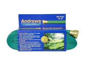 A.M. Andrews 10-12348 50 feet 2-Tube Green Sprinkler & Soaker Hoses