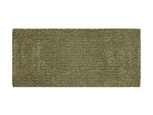 "Mohawk Home Urban Retreat Shag Northern Lights Glade 24""X60"" Rug Tan 3' x 5' 6390 13446 024060"