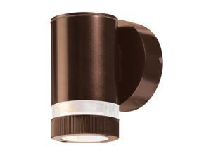 Access Lighting Poseidon Contemporary Bronze Wet Location Wallwasher - 1 Light Bronze Finish w/ Clear Glass