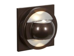 Access Lighting ZYZX Contemporary Bronze Wet Location LED Wallwasher - 2 Light Bronze Finish