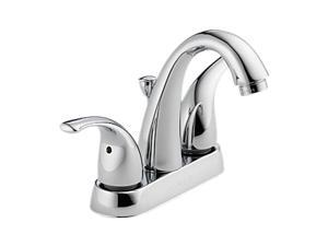 "Peerless P299695LF 4"" Centerset Two Handle Lavatory Faucet Chrome"