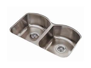 American Standard 7502.000.075 Culinaire Under Mount Double Bowl Kitchen Sink