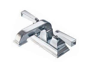 """American Standard 2555.201.002 4"""" Centerset Town Square Bathroom Faucet Polished Chrome"""