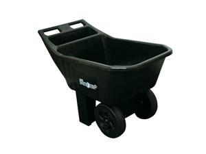 Ames True Temper 2463675 Easy Roller Jr. 3 Cubic Foot Poly Yard Cart