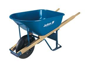 Jackson M6T22 6 Cubic Foot Steel Contractor Wheelbarrow