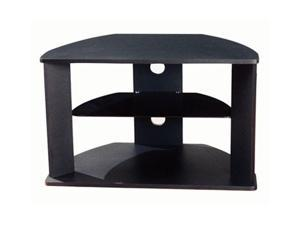 4D Concepts 64935 Corner TV Stand with Glass Shelf