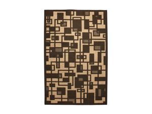 "Mohawk Home Iron Wear Apartment Life 60"" x 96"" Rug Mink Brown 5' x 8' 6739 14633 060096"