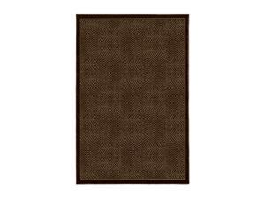 "Mohawk Home Shear Magic Tiger Patch 60"" x 96"" Rug Mink Brown 5' x 8' 6752 14432 060096"