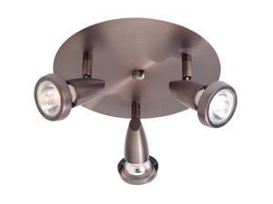 Access Lighting Mirage G Cluster Spot - 3 Light Bronze Finish Bronze Flush Mount Lighting