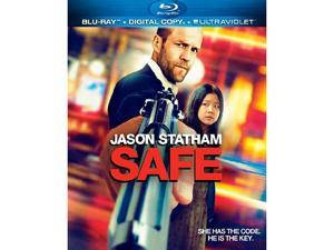 Safe (Digital Copy + Blu-ray) Jason Statham, Catherine Chan, Chris Sarandon, Robert John Burke, Reggie Lee