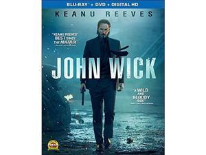 John Wick [Blu-ray] Keanu Reeves, Willem Dafoe, Dean Winters, Michael Nyqvist, Alfie Allen