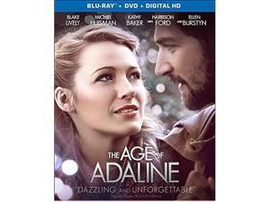 The Age Of Adaline [Blu-ray + Digital HD] Kathy Baker, Harrison Ford, Ellen Burstyn