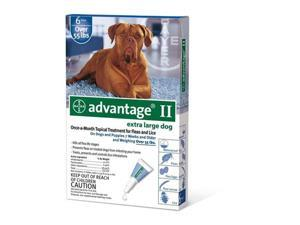 Advantage II for Dogs Over 55 lbs 6pk