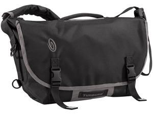 Timbuk2 D-Lux Laptop Racing Stripe Messenger Bag Black/Gunmetal - S