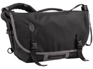 Timbuk2 D-Lux Laptop Racing Stripe Messenger Bag Black/Gunmetal - M