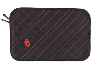 Timbuk2 Plush Layer Sleeve Black/Bixi Red 304-11N-2134 up to 11 inches -S