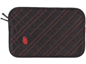 "Timbuk2 Black/Bixi Red Plush Layer 13"" Laptop Sleeve Model  304-13P-2134"