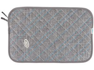 "Timbuk2 Gray Texture/Cold Blue Plush Layer 13"" Laptop Sleeve Model 304-13P-2211"