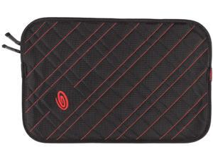 Timbuk2 Black/Bixi Red Plush Layer Laptop Sleeve Model 304-15P-2134
