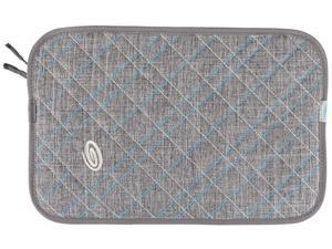 Timbuk2 Gray Texture/Cold Blue Plush Layer Laptop Sleeve Model 304-15P-2211