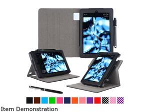 rooCASE Amazon Kindle Fire HD7 (2015) Case - Dual View Pro Folio Smart Cover Stand