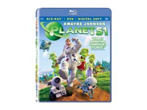 Planet 51(BR / DVD / DC / WS / DD 5.1 / ENG-SP-TURK-SUB / GER-Both) Dwayne Johnson, Jessica Biel, Justin Long, Gary Oldman, ...