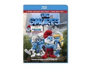 The Smurfs (BD+DVD/GIFTSET) Neil Patrick Harris, Jayma Mays, Hank Azaria, Sofia Vergara, Jonathan Winters (voice)